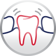 Loose Tooth Gum Disease parodontax Icon