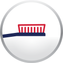 Toothbrush Bristles parodontax Icon